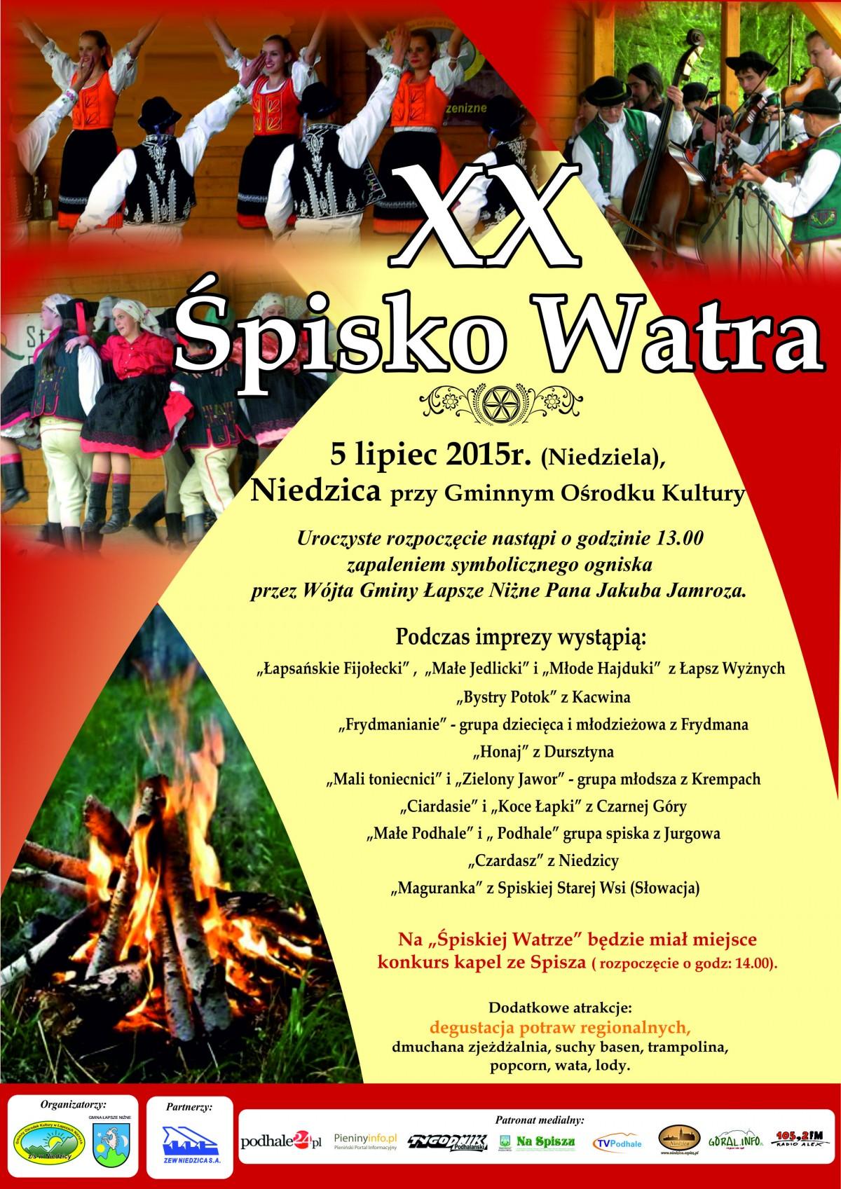 spisko watra 2015 plakat 3